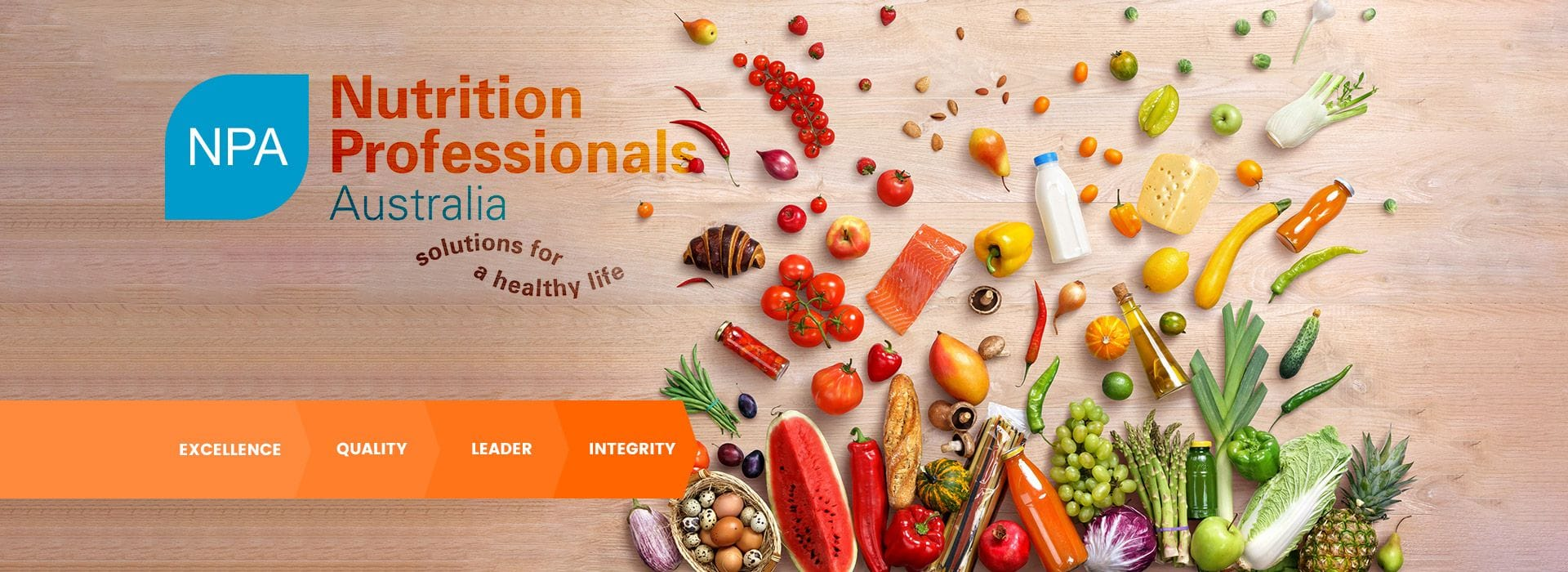 Nutrition Professionals Australia, Solutions for a healthy life.