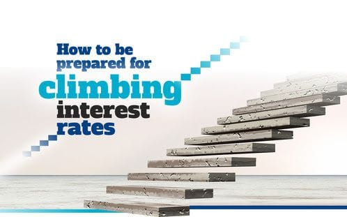 How to prepare for climbing interest rates