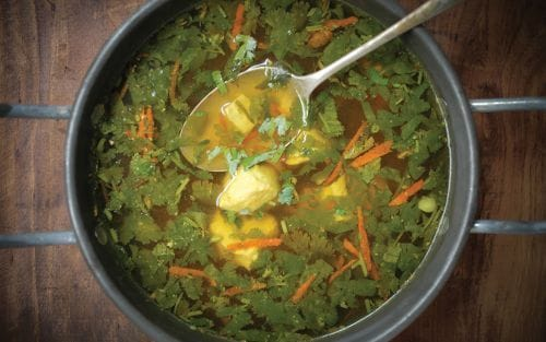 Recipe: Immune boosting chicken soup