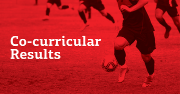 Co-curricular Results Term 3, Week 1, 2020