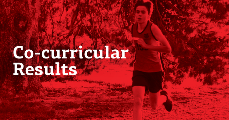 Co-curricular Results Term 3, Week 2, 2020