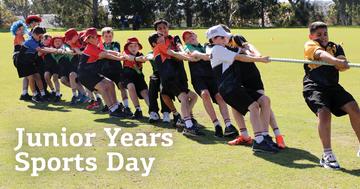 Junior Years Sports Day 2020