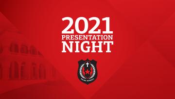 Presentation Night 2021