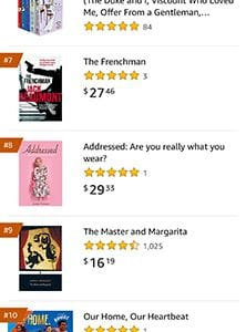 Addressed by Annie Robson Amazon top 10