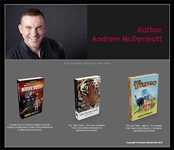 Pubklicious Author Website - Andy McDermott