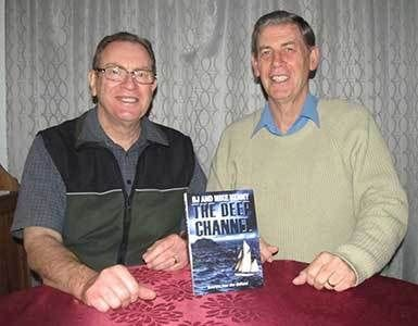 Authors BJ and Mike Kenny - Authors ofThe Deep Channel