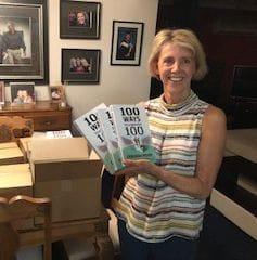 Deb Peden  - author of100 Ways to a Healthy 100
