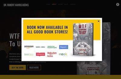 Author Dr Robert Harris website