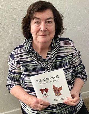 Elspeth McCracken-Hewson author of Gus and Alfie