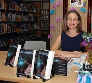 Francesca Sutters author ofReturning