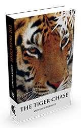 The Tiger Chase by Andrew McDermott  3D cover