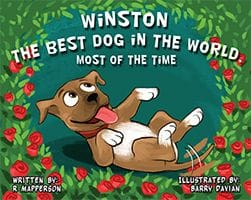 Winston the Best Dog in the World...Most of the Time by R Mapperson