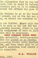 What Comrade Oldie Knew by H.A. Willis