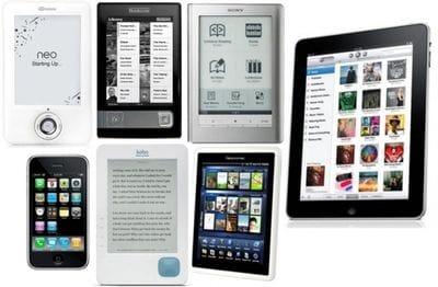eReaders capable of reading Publicious's ePub ebooks
