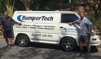 Bumper repairs sunshine coast