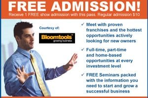 Visit Bloomtools at the National Franchise & Business Opportunities Show in Toronto!