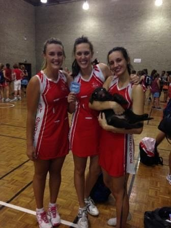 Academy Netballing Sisters Cause Havoc