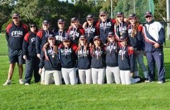 Outstanding win by softball girls