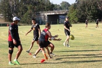 Wests Tigers Holden Cup and SWSAS Harold Matthews come together for special session
