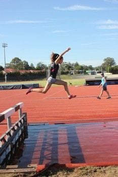 Academy Tri-athlete spreads her Wings!