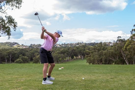 Academy Golf Program - 'In full swing'