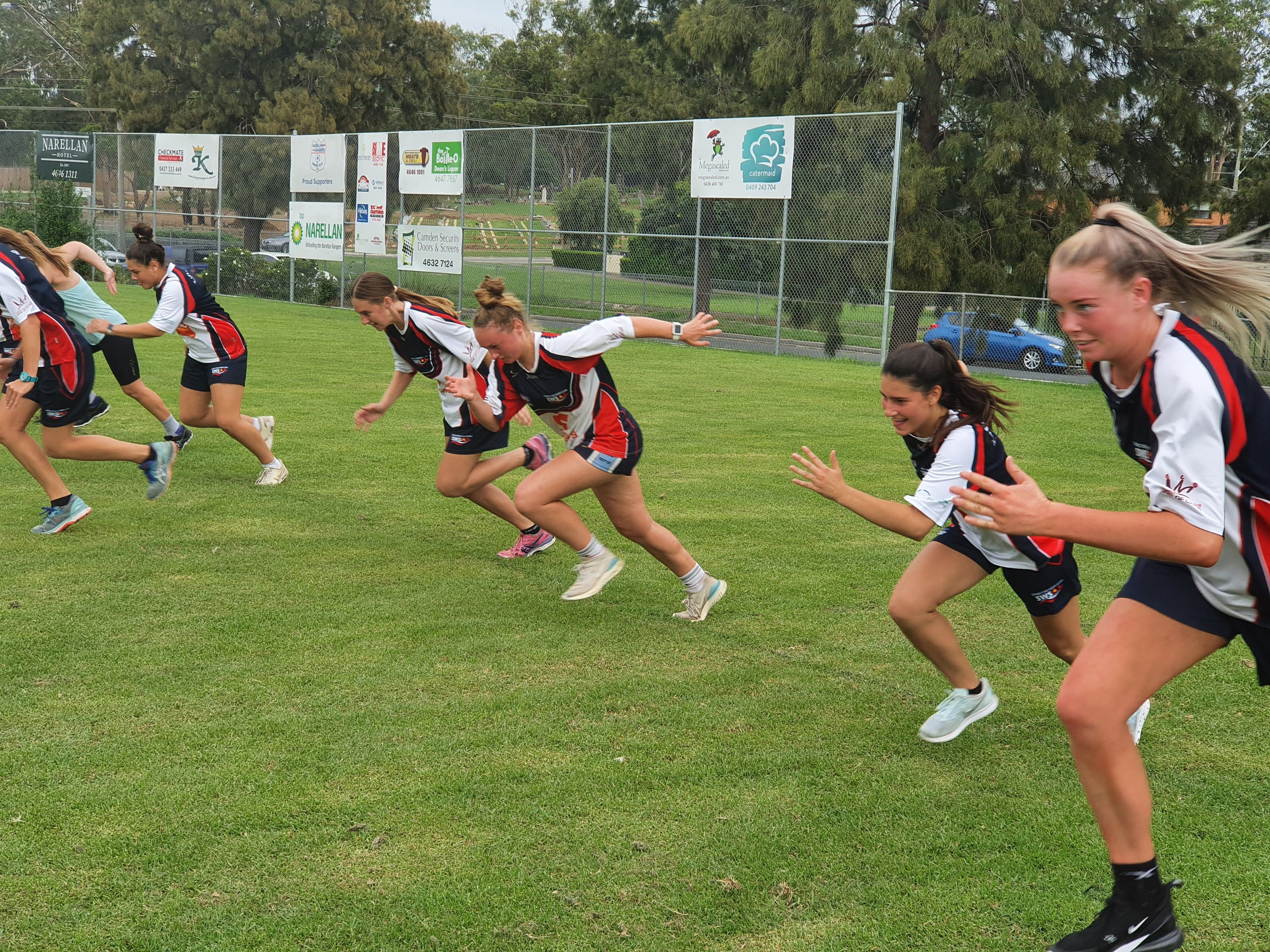 South West Sydney Academy of Sport AFL Female Talent Pathway Program