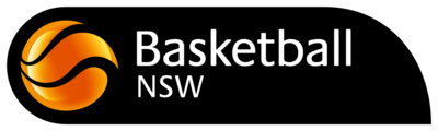 Basketball NSW | Logo | South West Sydney Academy of Sport | Back and Orange Logo
