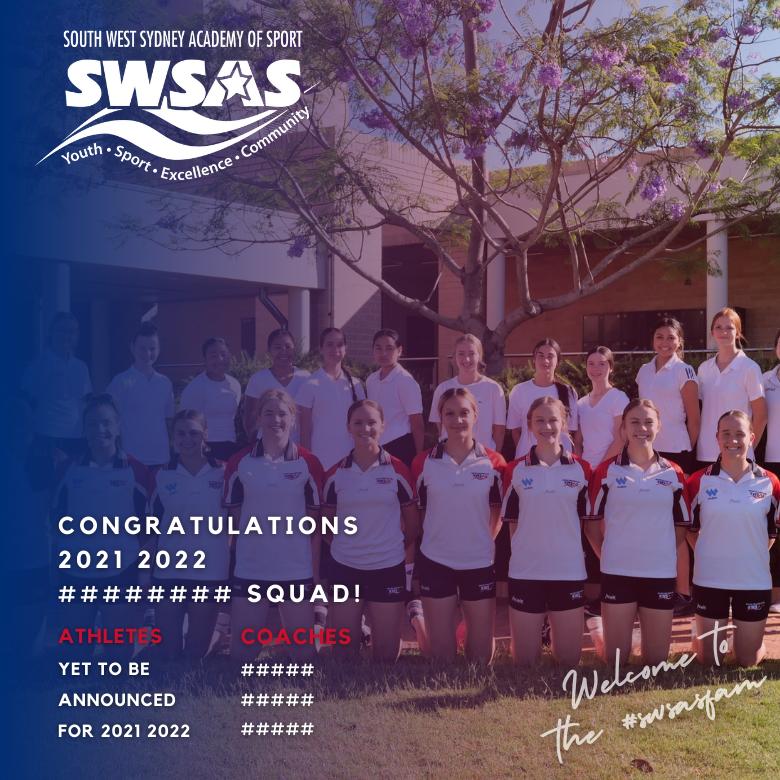 SWSAS Squad Announcement