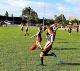 South West Sydney Academy of Sport AFL Development Program. Boys and Girls