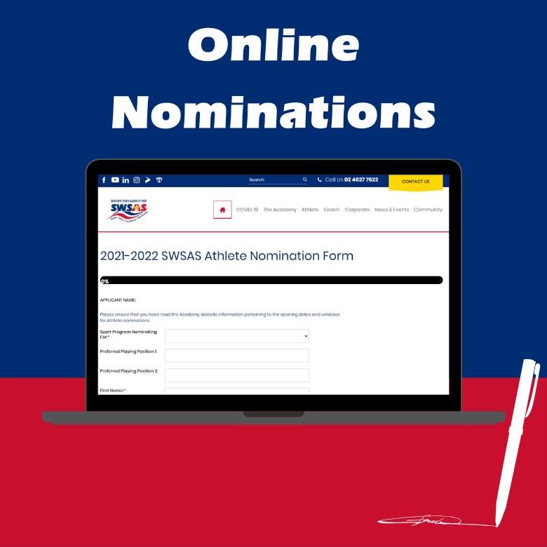 SWSAS Athlete Nominations Form