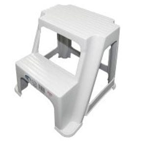 2 step plastic stool