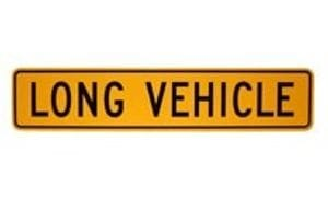 Long Vehicle Signs
