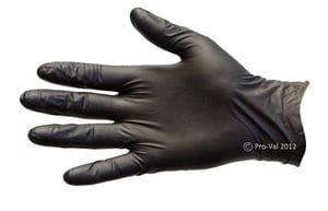 Black Nitrile Disposable Gloves Size S-XL