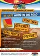 Thumbnail Oversize Load Ahead Signs