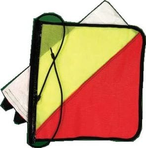 Heavy Duty Oversize Warning Flag Set