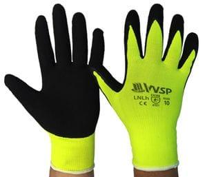 Hi Vis Latex Gloves