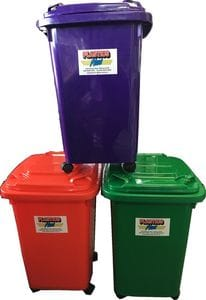 60L Mini Wheelie Bins