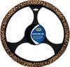 Wild Leopard Steering Wheel Cover