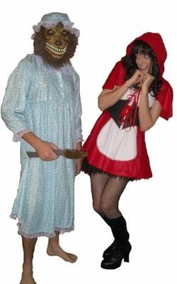 Red Riding Hood & Grandma Wolf
