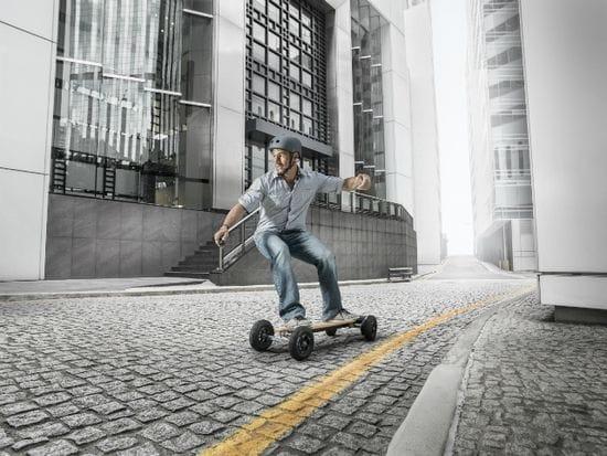 Evolve Skateboards rolls away with award
