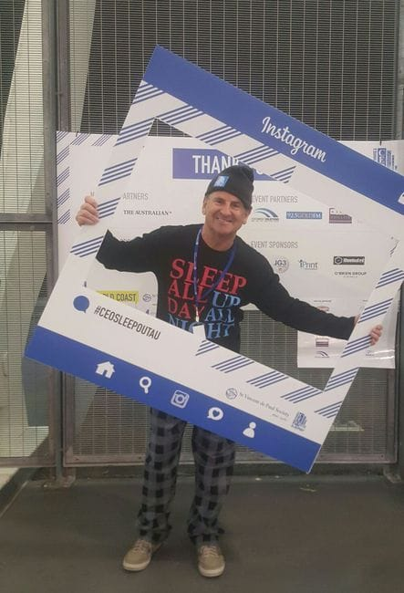 Vinnies 2016 CEO Sleepout