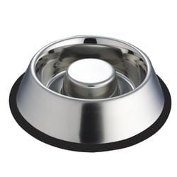 Dog Bowl Stainless Steel – Slow Feeder 700g