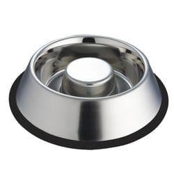 Dog Bowl Stainless Steel – Slow Feeder 1.2kg