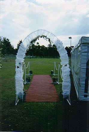 Garden Wedding Ceremony Package