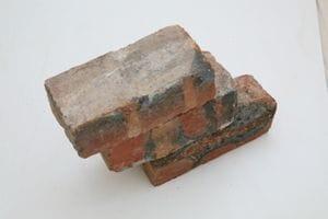 Red-Blue Clinker Bricks