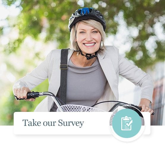 Not sure if you are a candidate for breast reduction surgery? Take our survey, we will get back to you with some next steps.