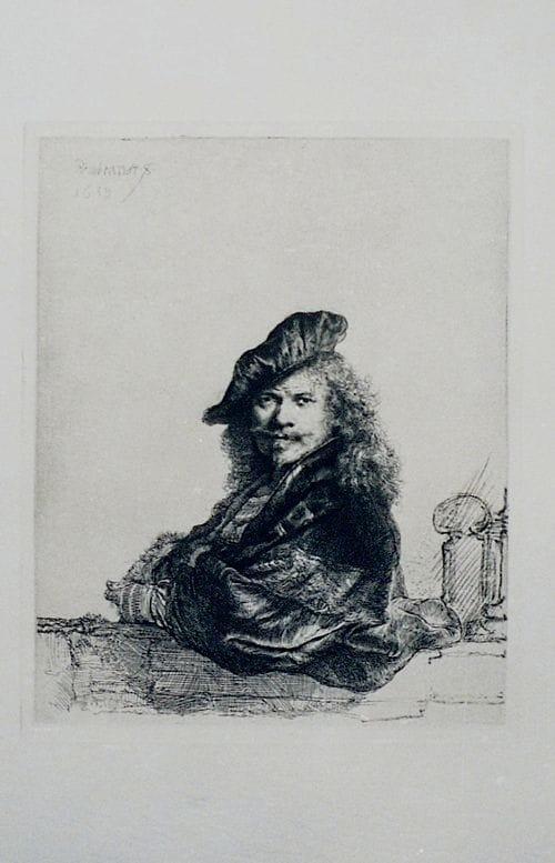 Restoration-Rembrandt-after paper artwork image restoration Melbourne