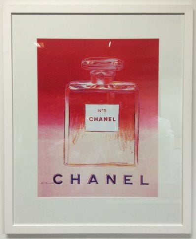 Chanel Pink by Andy Warhol