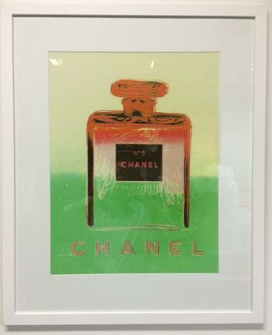 Chanel No.5 Green and Yellow by Andy Warhol