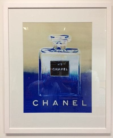 Chanel Blue Taupe by Andy Warhol